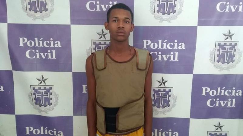 Brumado:  Polícias Civil e Militar agem rápido e prendem suspeito de ser o autor da morte de Flávio