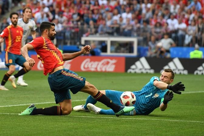 Decisão nos pênaltis contra a Rússia tira Espanha da Copa do Mundo