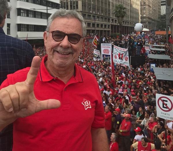 Waldenor participa de atos e encontro em SP pela candidatura de Lula