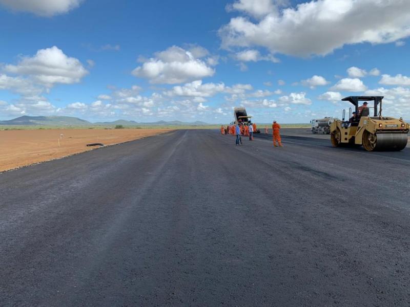Construção do aeroporto de Bom Jesus da Lapa e outras obras ajudam a manter economia baiana em movimento