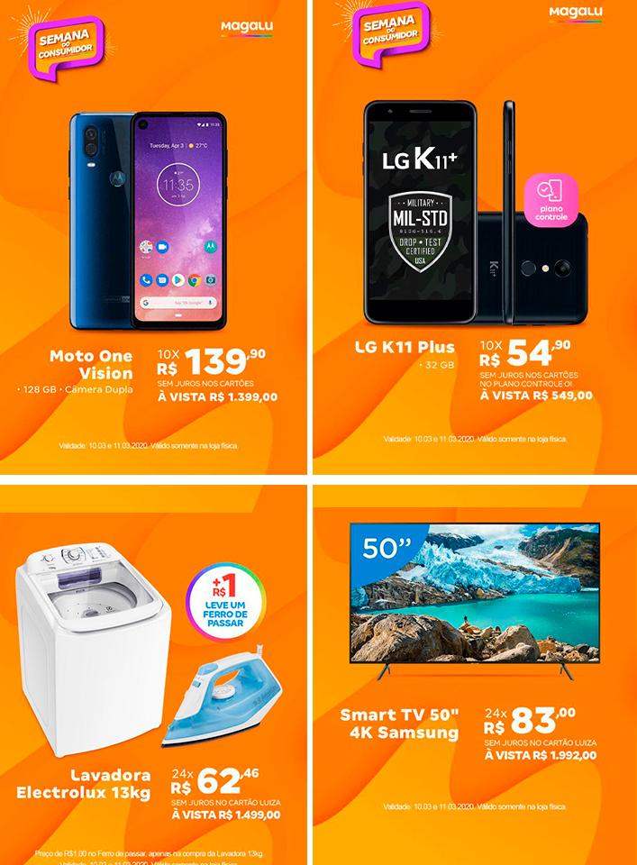 Publicidade: Confira algumas das ofertas da semana no magazine Luiza em Brumado
