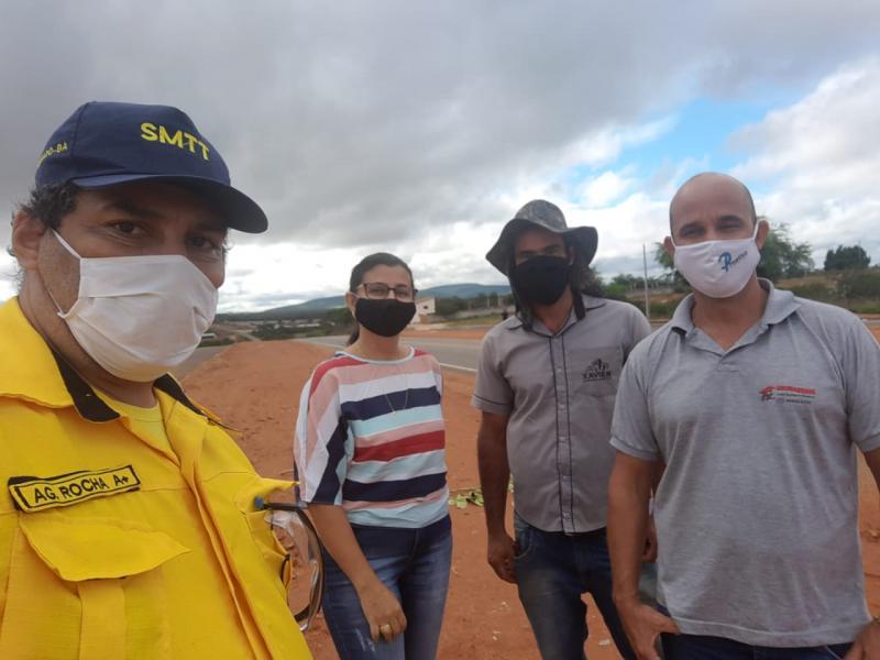Brumado: SMTT realiza ações para melhoria do fluxo viário do município