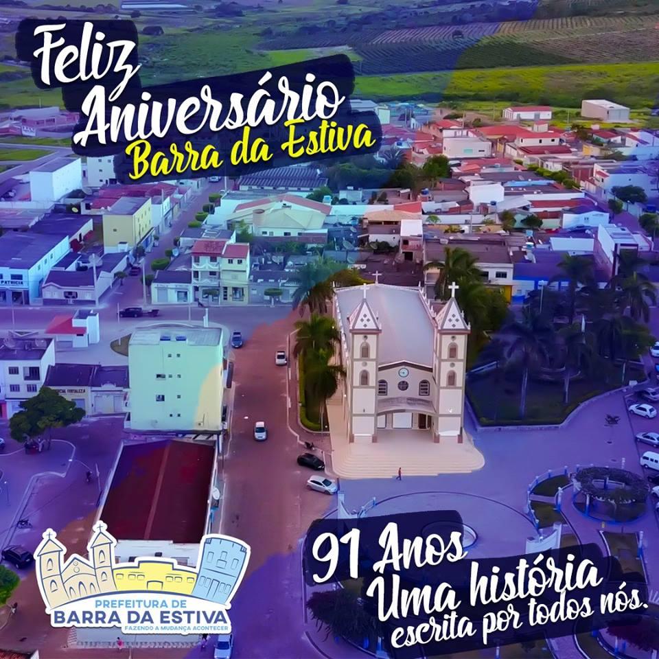 Barra da Estiva é homenageada pelos seus 91 anos de História e emancipação política