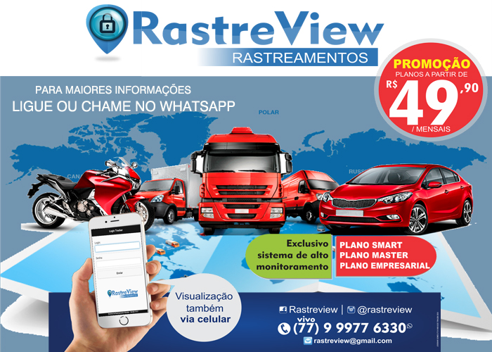 Tenha controle e proteção do seu veículo; contrate agora os serviços da Rastre Wiew Rastreamentos