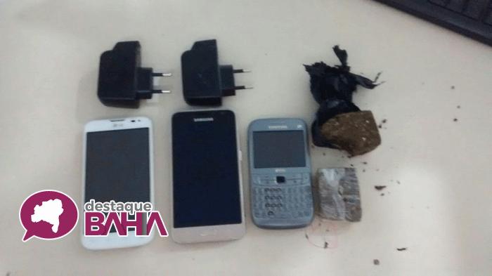 Polícia impediu que droga e celulares chegasse aos presos da cadeia de Brumado