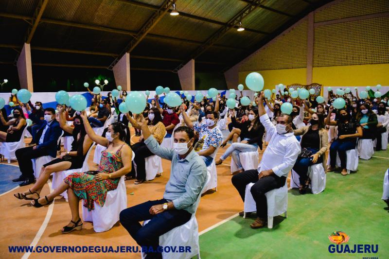SARAU DA EDUCAÇÃO: poesia, música, dança e cordel marca a Abertura da Jornada Pedagógica em Guajeru