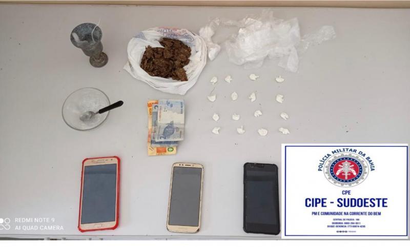 Barra da Estiva: Homem é detido acusado de tráfico de drogas
