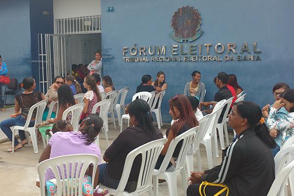 Brumado, Aracatu, Malhada de Pedras e outras cidades terão terão plantão para biometria de eleitores neste fim de semana