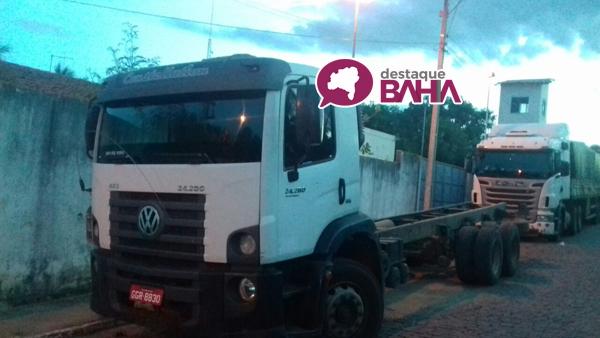 Polícia de Brumado recupera caminhão tomado de assalto em Seabra