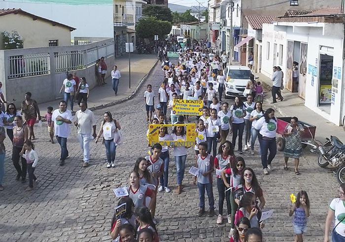 Caminhada Faça Bonito é realizada em Ituaçu; veja o vídeo