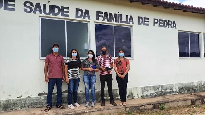 Aracatu: Prefeita Braulina Lima visita PSF da região da Pedra; unidade será reformada