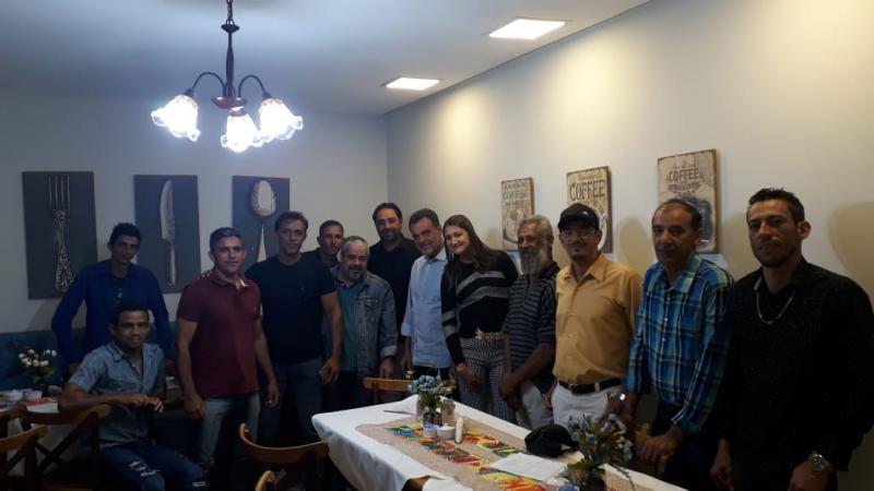 Deputados e lideranças do PCdoB declaram apoio à André Berkovitz como pré-candidato a prefeito de Rio do Antônio