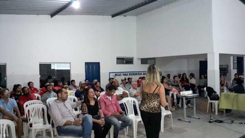 Audiência Pública do Plano Municipal de Saneamento é realizada no Distrito de Itaquarai