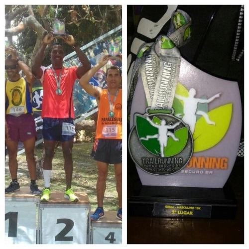 Atleta brumadense conquista segundo lugar em corrida em Porto Seguro