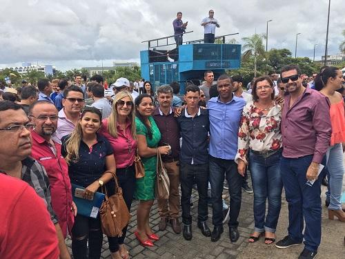 Prefeita, secretários e vereadores de Malhada de Pedras apoiam movimento contra crise em cidades baianas