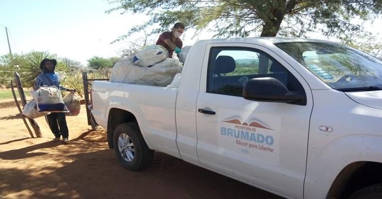 Prefeitura de Brumado realiza recebimento itinerante de embalagens de agrotóxicos vazias