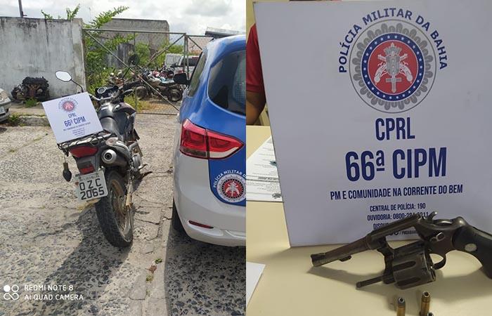 Cinco motocicletas são recuperadas em menos de 24 horas