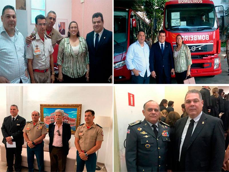 Legislativo reforça ações em prol da implantação de um Grupamento do Corpo de Bombeiros em Brumado