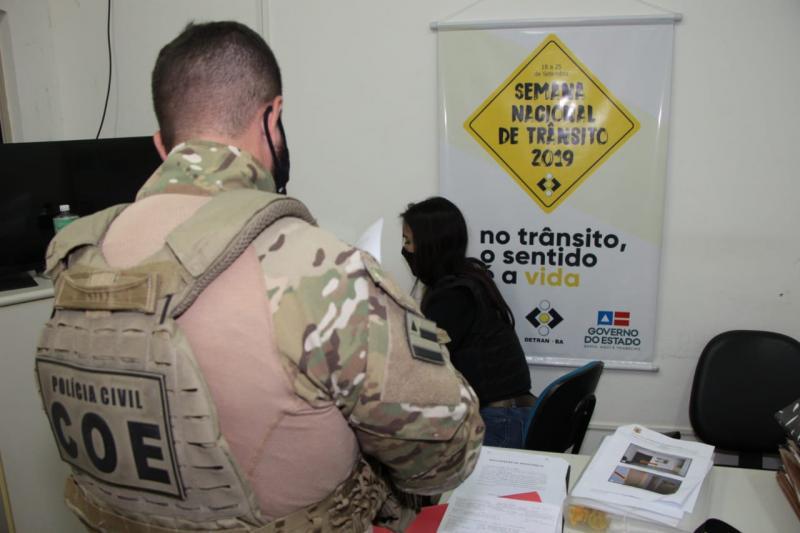 Operação Mão Dupla cumpre mandados no Detran-BA e em empresas