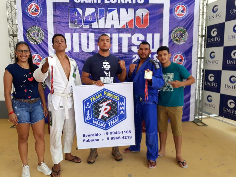 Equipe Team Ribeiro de Brumado participa de 2º Etapa do Circuito Oeste Baiano de Jiu Jitsu em Guanambi