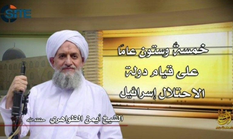 Líder da Al-Qaeda convoca jihad contra EUA por embaixada em Jerusalém