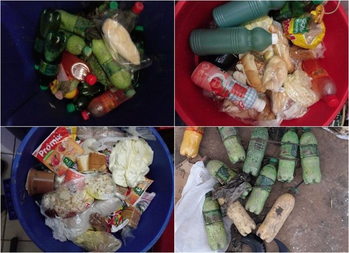 Presos fazem greve de fome 'fake' e polícia acha comida estocada em garrafas