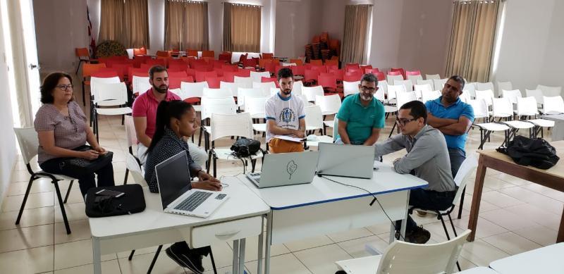 Visita técnica efetiva Plano de Saneamento Básico em Aracatu