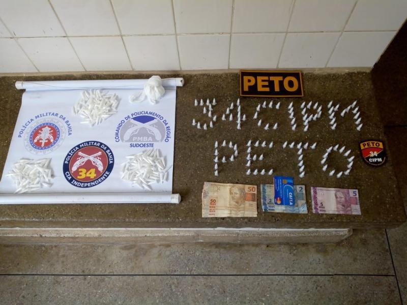Jovens desaparecidos em Riacho de Santana são apreendidos com drogas em Brumado