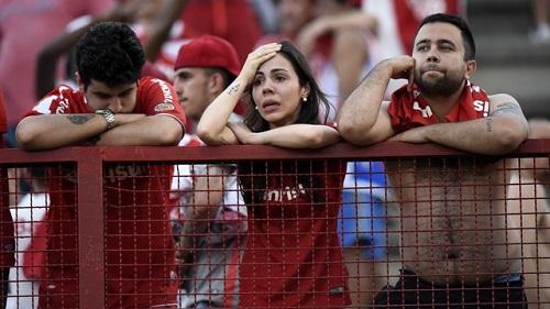 Inter só empata com Fluminense e sofre primeiro rebaixamento de sua história