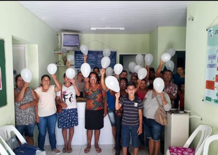 Centro de Saúde de Aracatu realiza campanha Janeiro Branco