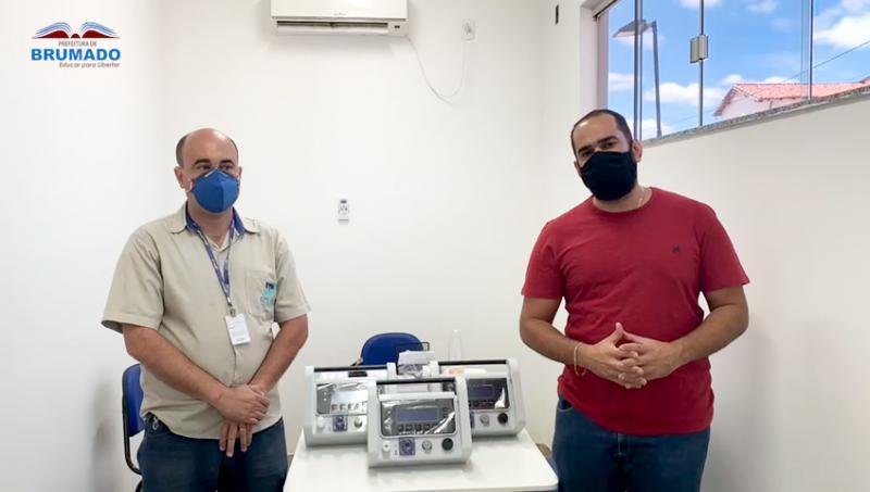 Prefeito de Brumado solicita e consegue ventiladores pulmonares do Ministério da Saúde