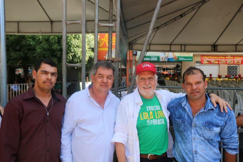 Prefeito de Rio do Antônio participa de comitiva que recepcionou Rui Costa em Bom Jesus da Lapa