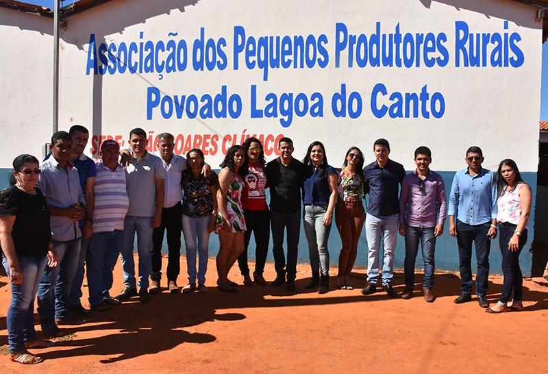 Guajeru: Associação dos Pequenos Produtores Rurais da Lagoa do Canto passa a funcionar em nova sede