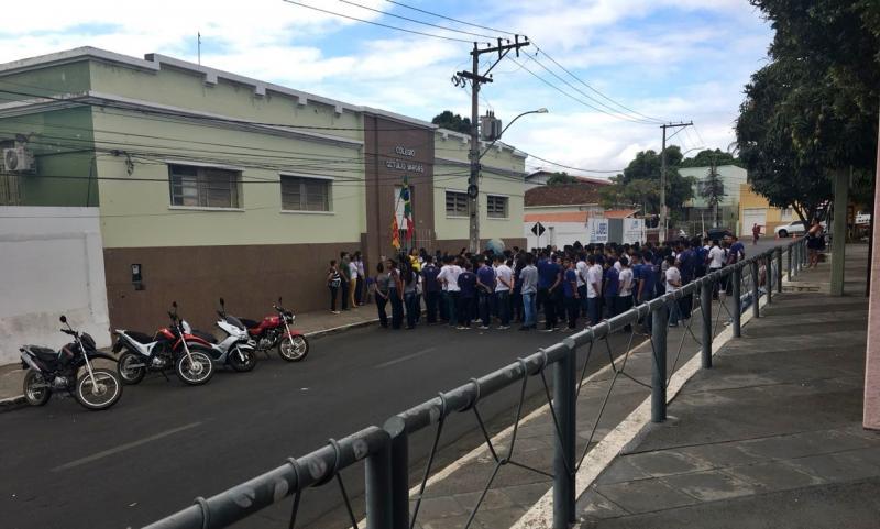 Escolas se preparam para desfile de 07 de Setembro em Brumado