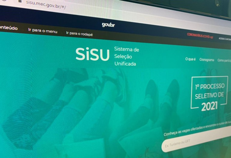 Sisu ofertará mais de 209 mil vagas na seleção do 1º semestre de 2021