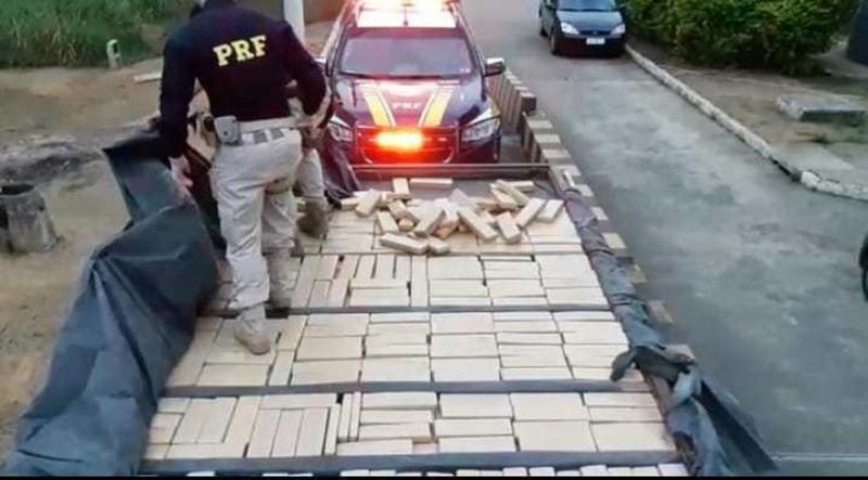 Homem é preso com mais de meia tonelada de maconha em Vitória da Conquista