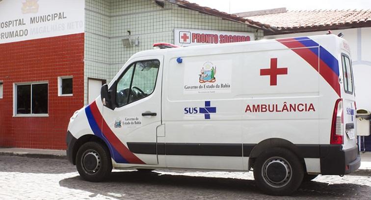 Brumado é contemplada com mais uma ambulância para atender a área da Saúde