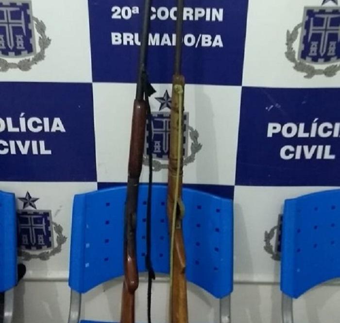 Polícia Civil prende homem que ameaçou mulher e filhos em Brumado