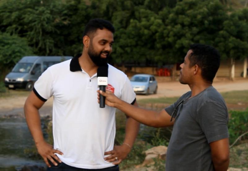 Vídeo: Confira a reportagem do bingo beneficente para a construção da passagem molhada no povoado de Areião, no município de Mirante