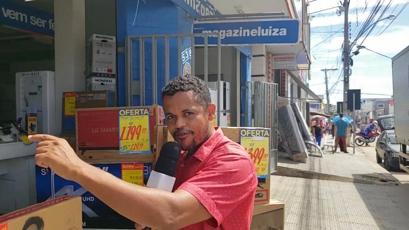 Brumadense se emociona ao ser contemplado com grande prêmio do Magazine Luiza, veja o vídeo
