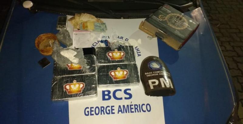 Droga avaliada em R$ 140 mil é apreendida pela polícia em Feira de Santana