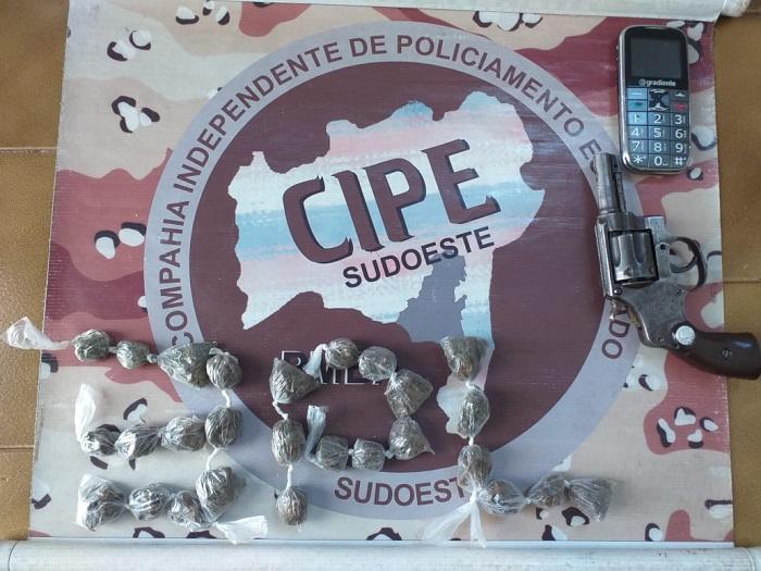 Paramirim: Bandido morre em troca de tiros com policiais da Caesg