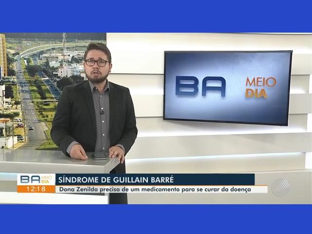 TV Bahia relata drama de brumadense que aguarda por medicamento a ser comprado pelo Governo do Estado