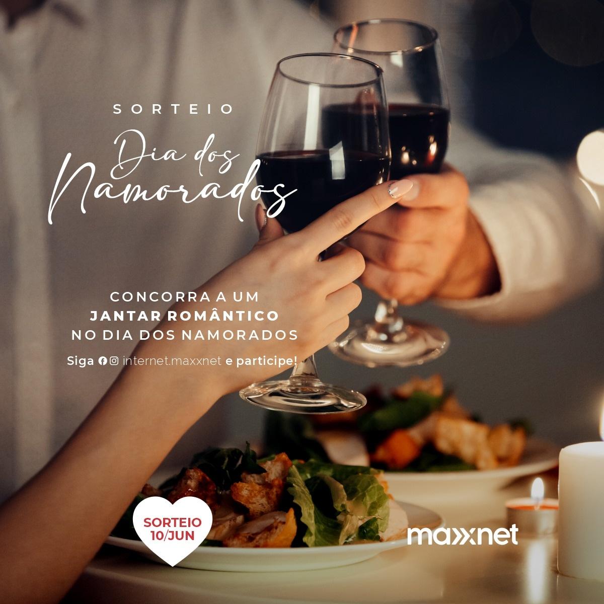 Brumado e Aracatu: Participe da Promoção Dia dos Namorados da MaxxNet