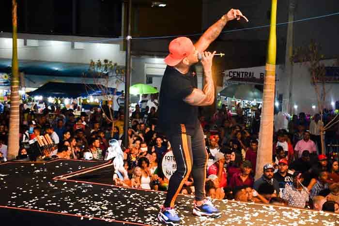 As principais atrações musicais do aniversário de Maetinga custaram quase  R$ 200 mil; confira