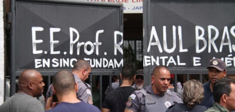 Polícia apreende menor suspeito de ajudar a planejar massacre a escola em Suzano