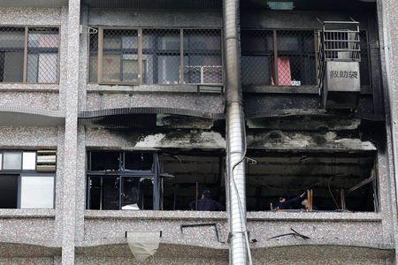 Incêndio em hospital em Taiwan deixa 9 mortos e 15 feridos
