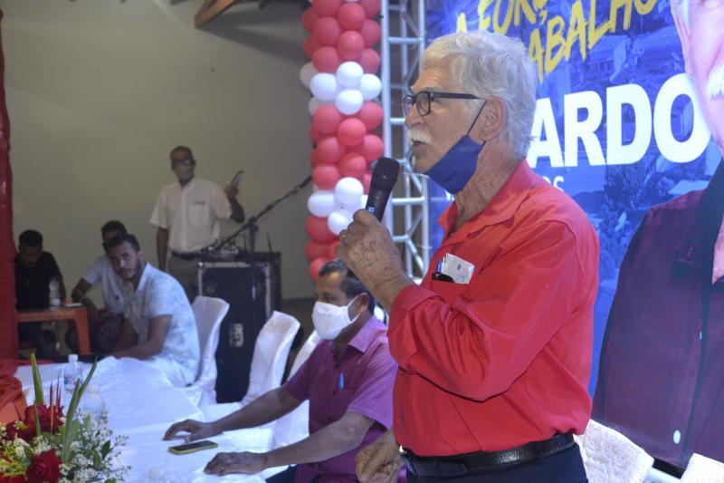 Brumado: Convenção municipal do PSB e PCdoB define candidatura a reeleição do prefeito Eduardo Lima Vasconcelos