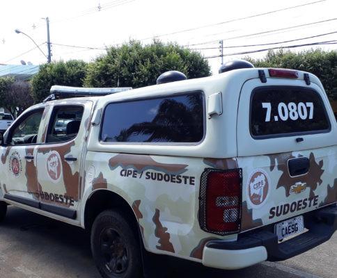 Gerente do tráfico e com mandado de prisão em aberto, homem morre em confronto com a CIPE Sudoeste em Palmas de Monte Alto