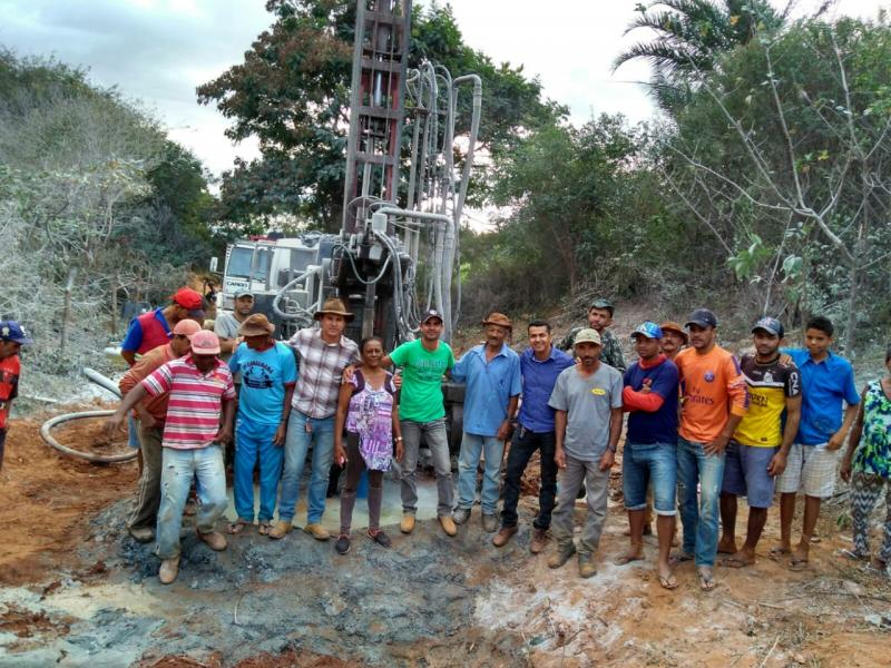 Abertura de Poços: Zona Rural de Guajeru continua sendo beneficiada pela Prefeitura